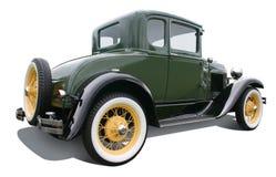green för 3 coupe Arkivbild