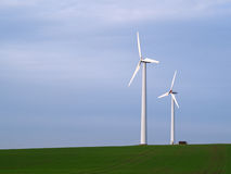 green för alternativ energi Royaltyfri Foto