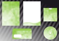 green för element för affärsdesign royaltyfri illustrationer