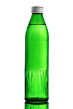 green för flaskexponeringsglas Arkivfoto