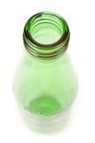 green för flaskexponeringsglas Royaltyfri Foto