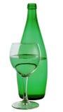 green för flaskexponeringsglas Royaltyfria Bilder