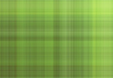 Green Fabric. Green check / checkered / tartan fabric material stock illustration