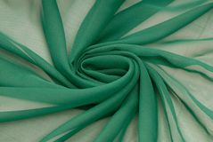 Green fabric Royalty Free Stock Photography