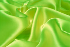 Green fabric. The fabric can be used as a background Stock Image