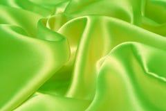 Green fabric Stock Image