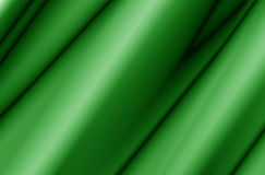 Green Fabric Abstract. Green Fabric Curtain With Waves, Abstract, Background Royalty Free Stock Image