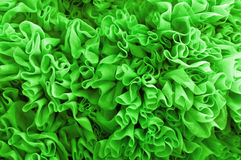Green fabric background Royalty Free Stock Photo