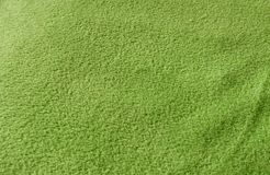 Green fabric background Stock Images