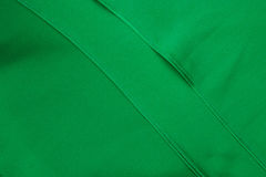 Green fabric Royalty Free Stock Image