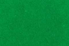 Green fabric background. Texture with fiber thread Stock Photography