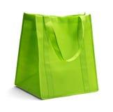 Green Fabric Bag Stock Photos