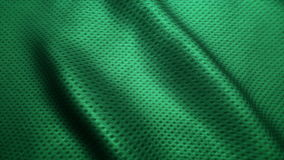 Green fabric high quality jeans texture,moving waves. Nature texture Royalty Free Stock Photography