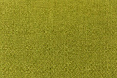 Green fabric, material, cloth for texture, background, pattern, wallpaper Stock Image