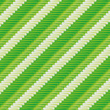Green fabric with pattern Stock Images