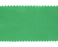 Green fabric swatch samples texture Stock Photo