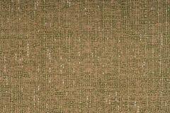 Green fabric texture Stock Photo