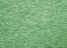 Green fabric texture. Green athletic cloth shirt texture Royalty Free Stock Image