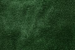 Green fabric texture Stock Image