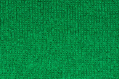 Green fabric texture background, close up Royalty Free Stock Image