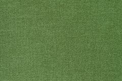 Green fabric texture background. Textile cloth backdrop Stock Photography