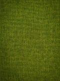 Green fabric texture. Stock Image