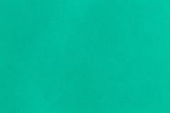 Green fabric texture. Macro photo Royalty Free Stock Photos