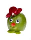 Green face Royalty Free Stock Photo