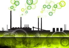 Green factory Royalty Free Stock Photo