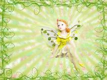 Green fairy Stock Photography