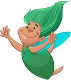 Green fairy Royalty Free Stock Photos