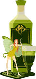 Green fairy Royalty Free Stock Image