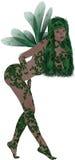 Green Fairy Royalty Free Stock Image