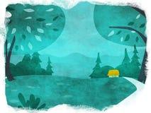Green Fairy royalty free illustration