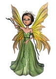 Green Fairy Butterfly Royalty Free Stock Photos