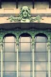 Green fairy facade Stock Photos
