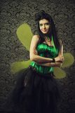 Green fairy Royalty Free Stock Images