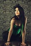 Green fairy Stock Photo