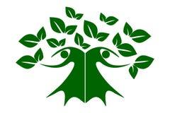 Green family tree of life stock photos