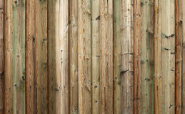 Green farm wood. Green wood of a barn Royalty Free Stock Images