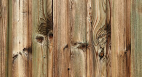 Green farm wood detail Royalty Free Stock Photo