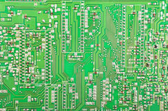 Green fax motherboard Stock Photos