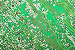 Green fax motherboard Royalty Free Stock Photography
