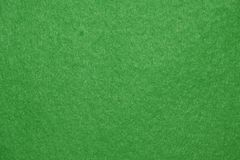 Green Felt Background. Stock Photography