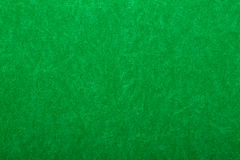 Green felt on casino table Royalty Free Stock Photos