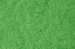 Green felt fabric background Royalty Free Stock Photos