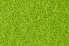 Green felt fabric background Stock Photography