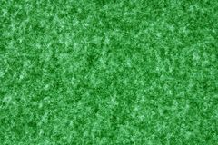 Green felt texture Stock Photography