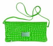 Green female bag Stock Image