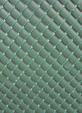 Green fence Stock Photo
